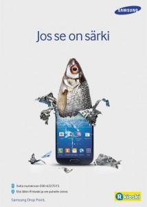 Samsung ja R-kioski aloittivat Drop Point -yhteistyön