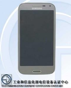 Samsung SM-G3858 edestä kiinalaisen TENAA-viranomaisen kuvissa