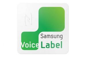 Samsung Voice Label -tunnistepalanen