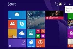 Windows 8:ssa nähtiin aikanaan uusi Modern-ilme.