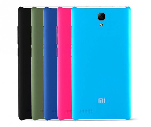 Xiaomi Redmi Note takaa useissa eri väreissä