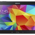 Samsung Galaxy Tab 4 10.1 mustana edestä