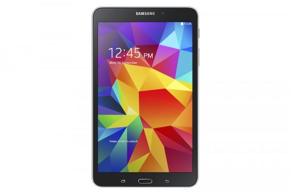 Samsung Galaxy Tab 4 8.0 mustana edestä