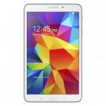 Samsung Galaxy Tab 4 8.0 valkoisena edestä