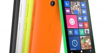Lumia 630 eri väreissä