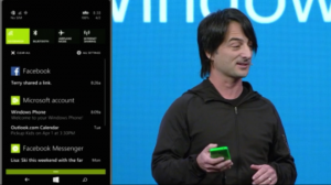 Joe Belfiore esitteli Action Centerin
