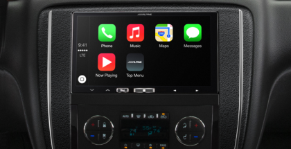 Alpine + Apple CarPlay
