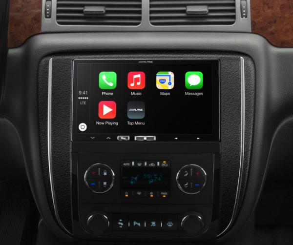 Alpine + Apple CarPlay
