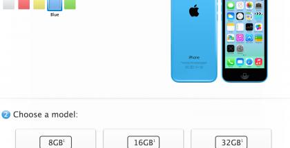 iPhone 5c:n hinnat ovat nyt 549, 599 ja 699 euroa
