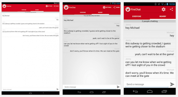FireChat Androidille