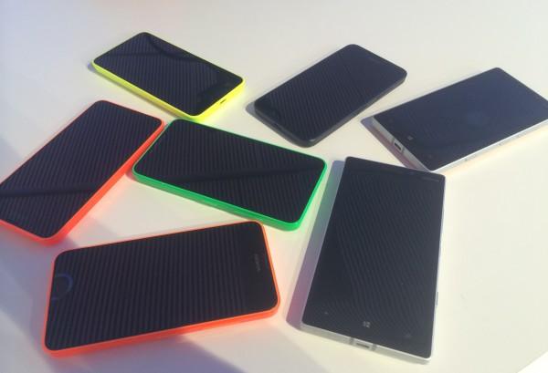 Lumia 930, Lumia 630 ja Lumia 635 -kokoelma