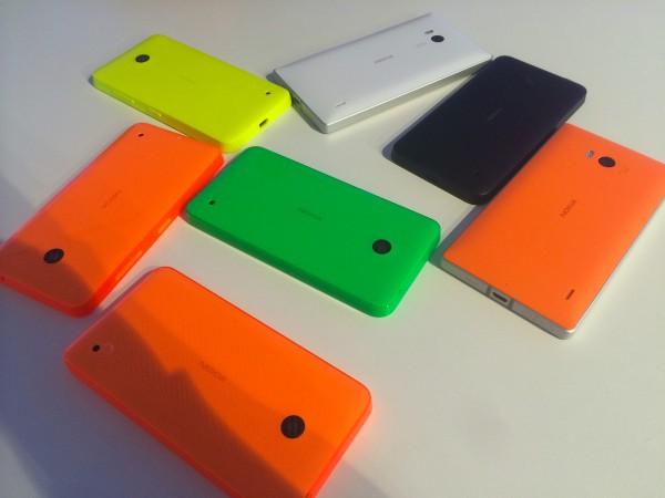 Uusissa Lumioissa on väriä: uutta pirteyttä tuovat oranssit, vihreät ja keltaiset värivaihtoehdot