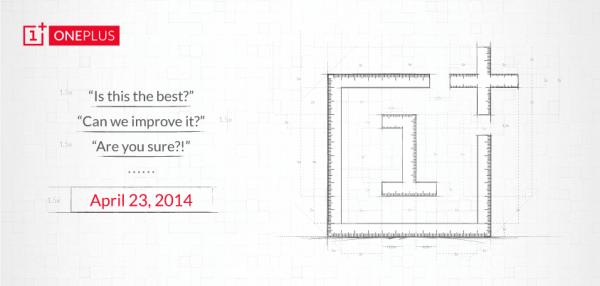 OnePlus One julkistetaan kunnolla 23. huhtikuuta