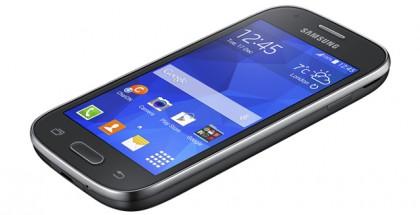 Samsung Galaxy Ace Style harmaana värivaihtoehtona