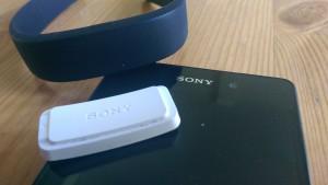 Sony Xperia Z2 ja Sony Smartbandin ranneke