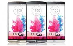 LG G3 lehdistökuvissa