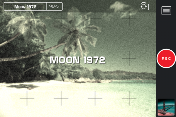 NASAn kuulähetys -teema iPhonen näytöllä