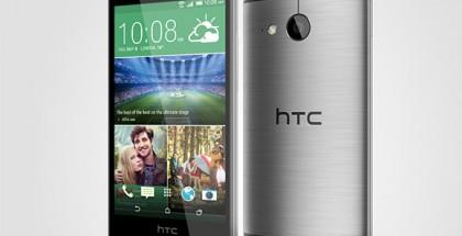 HTC One mini 2 asemetallin harmaana