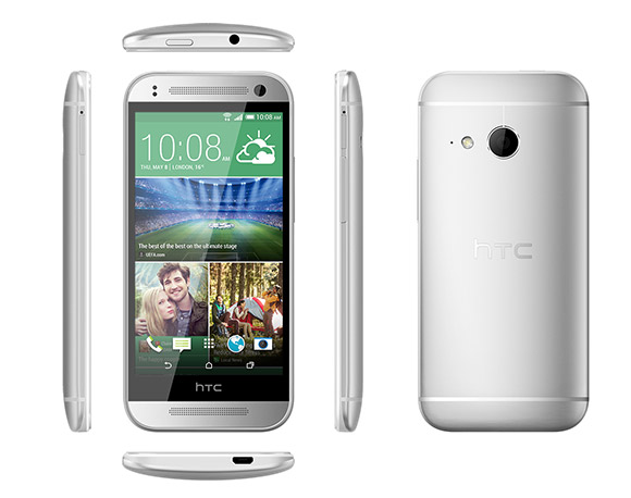 HTC One mini 2 hopeisena