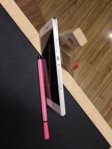 Huawei Ascend P7 sivulta Nowhereelsen julkaisemassa kuvassa