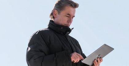 Esa-Pekka Salonen ja iPad Air