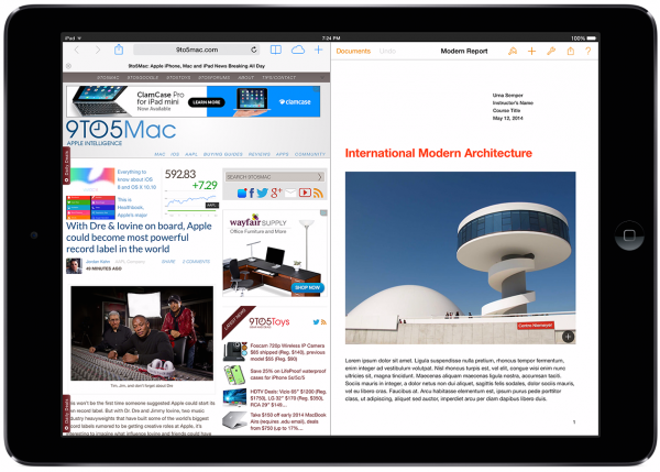 iPad Air -moniajokonsepti 9to5Macin kuvassa