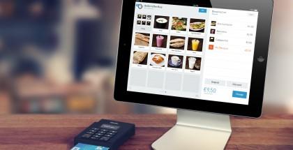 iZettlen kortinlukija ja iPad