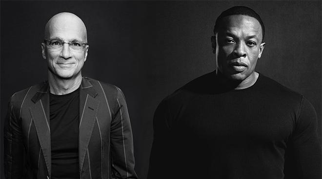 Beatsin perustajat Jimmy Iovine ja Dr. Dre