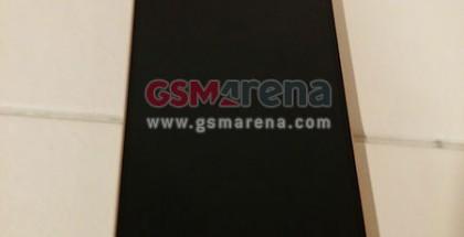 LG G3 kultaisena värivaihtoehtona GSMArenan julkaisemassa kuvassa