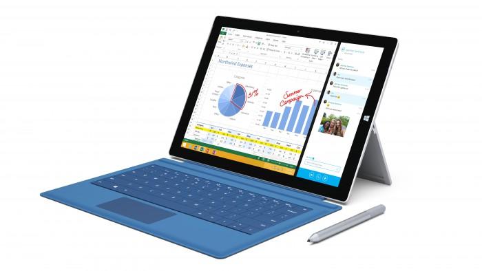 Microsoft Surface Pro 3, Type Cover -näppäimistökuori ja Surface-kynä