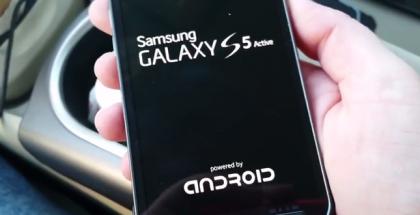 Kuvankaappaus videolta: Samsung Galaxy S5 Active