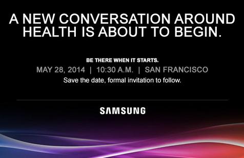 Samsungin kutsu terveysaiheeseen tilaisuuteen 28. toukokuuta
