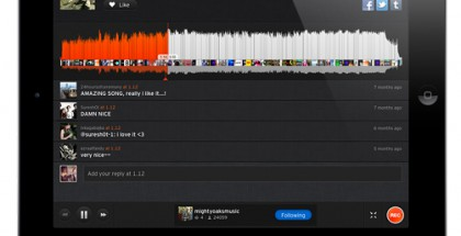 SoundCloud iPadille
