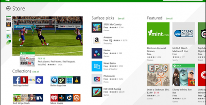 Uusi Windows Store