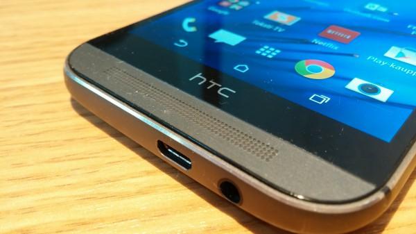 HTC:n lippulaivaälypuhelin One (M8)