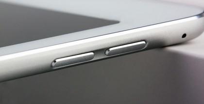 Oletettu iPad Air 2 -mallikappale esittelee upotettuja painikkeita