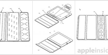 Kuva Applen visuaalisen suojakannen patenttihakemuksesta