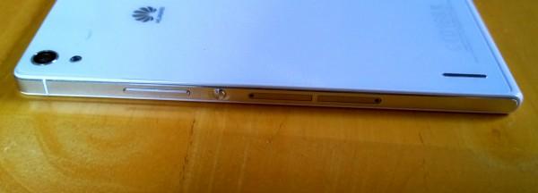Huawei Ascend P7 sivulta