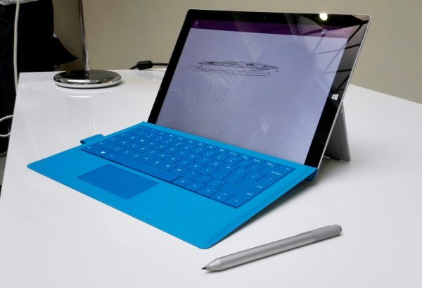 Surface Pro 3, Type Cover ja kynä