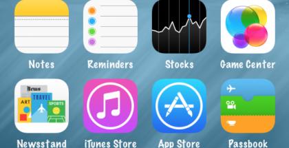 iOS 8:n vaihtoehtoinen ulkoasu