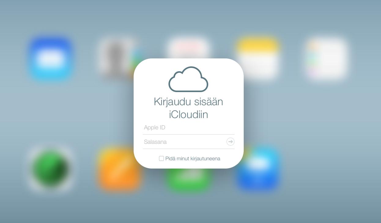Applen iCloud-palvelu