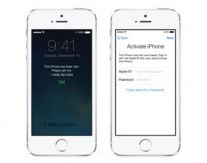 iOS 7:n etälukitus