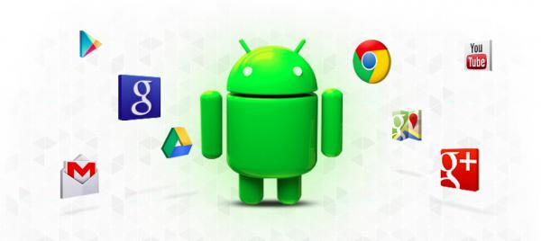 Android ja Googlen palvelut.