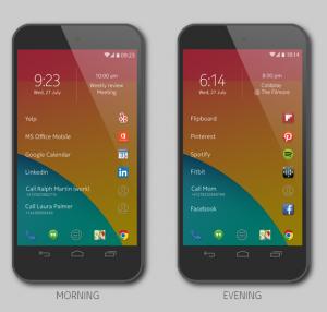 Nokian Z Launcher Androidille