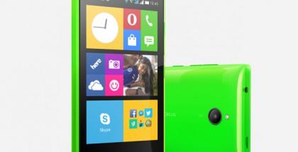 Nokia X2 vihreänä