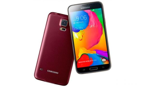 Samsung Galaxy S5 LTE-A punaisena