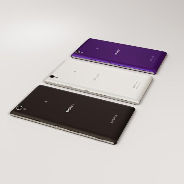 Sony Xperia T3 kolmessa värissä