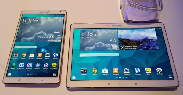 Samsung Galaxy Tab S 8.4 ja 10.5