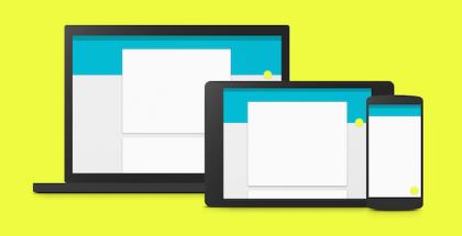 Android L ja Material Design