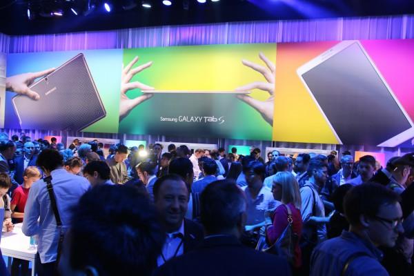 Samsung Galaxy Tab S -tilaisuus. Kuva: Lasse Pulkkinen